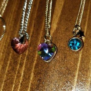 Jewelry - Lot of 10 Fashion Rhinestone Swarovski Necklaces
